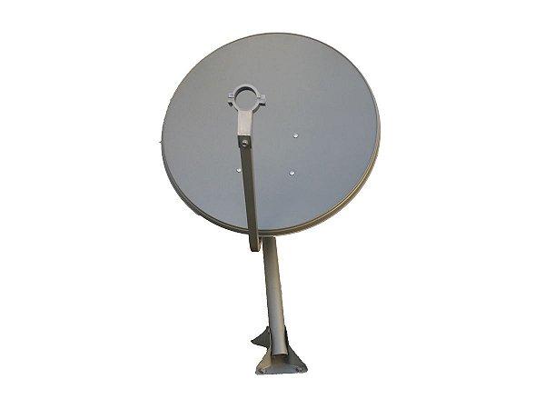 Antena Offset De 60 Cm Para Satélites Banda Ku