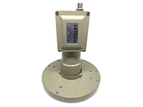 LNBF Banda C Monoponto AP30 PLL 4,5 ~ 4,8 Ghz Brasilsat