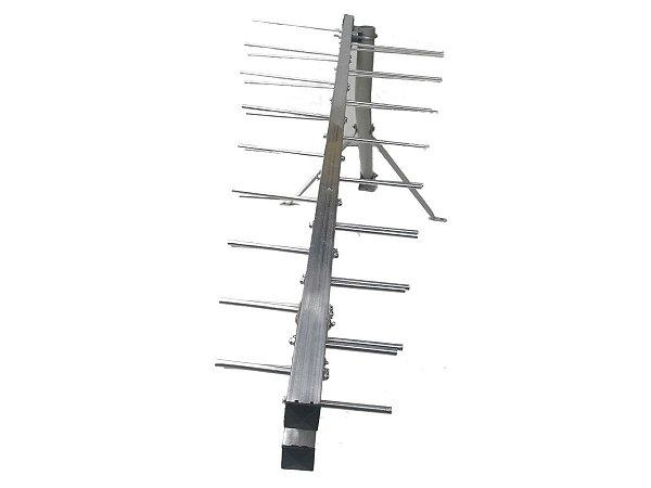 Antena UHF Banda Total Super Log HDTV Connect Antenas