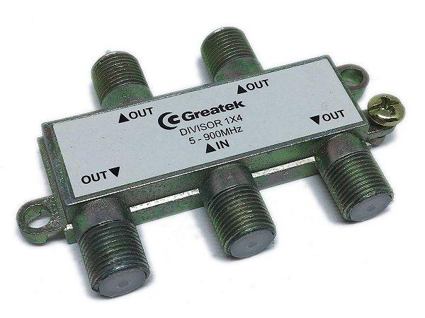 Chave Divisora de Baixa Frequência 3x1 Greatek