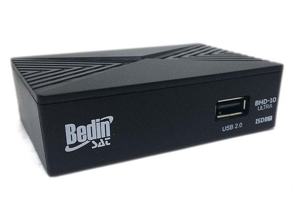 Conversor Digital Terrestre BHD-10 Ultra BedinSat