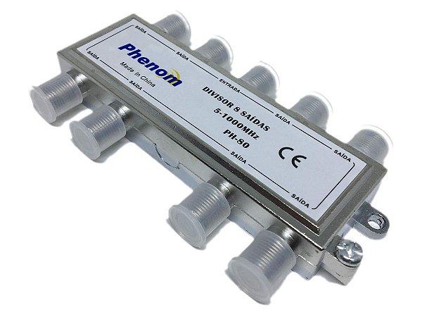 Chave Divisora de Baixa Frequência 8 Saídas Phenom 5-1000 Mhz