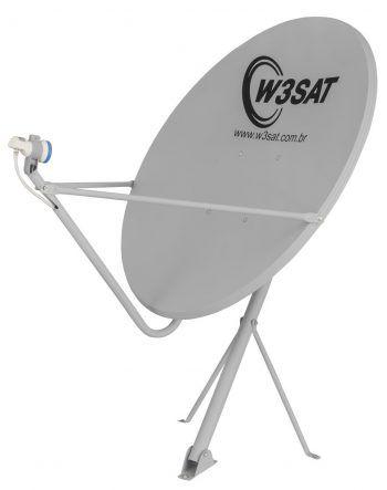 Antena DTH Offset Banda KU de 90 cm W3SAT