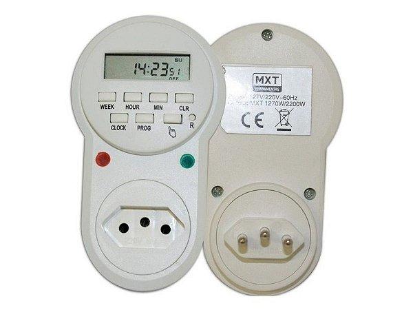 Timer Temporizador Digital Bivolt 127/220V 24h