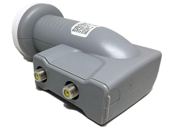 LNBF Universal Banda Ku Duplo C/ Filtro Wi Max MXT
