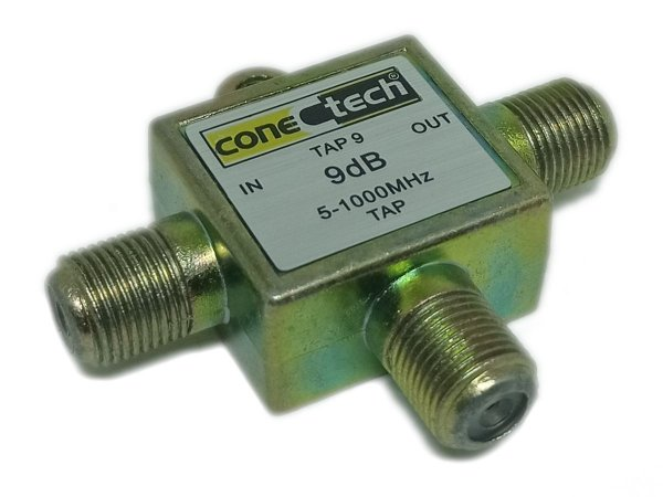 Chave TAP Tipo T  9 dB 1GHZ ConecTech