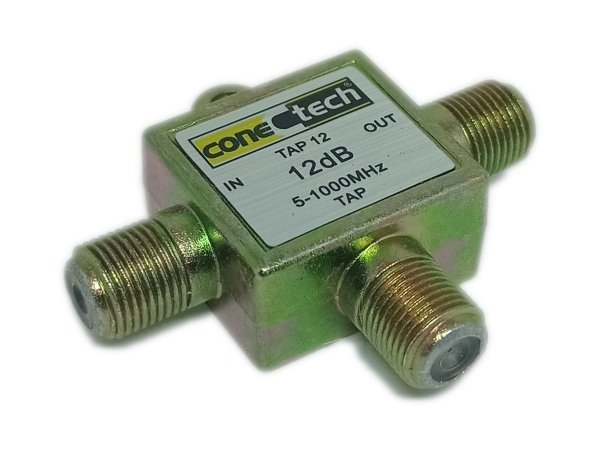 Chave TAP Tipo T  12 dB 1GHZ ConecTech