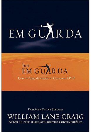 """Box """"Em Guarda"""" - Livro + Guia de Estudo + DVD"""