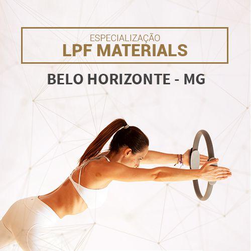 Especialização LPF MATERIALS em Belo Horizonte - MG (NOVEMBRO-2021)