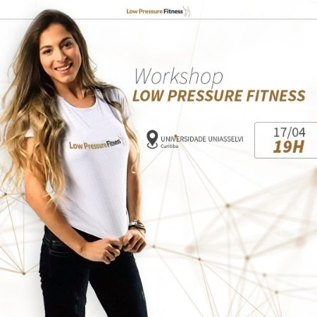 Workshop Low Pressure Fitness 100% teórico - Curitiba/PR