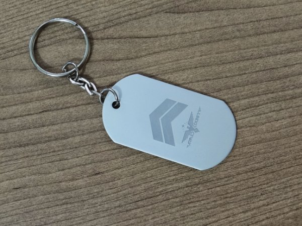 Chaveiro Dog Tag Armed Country - Cabo