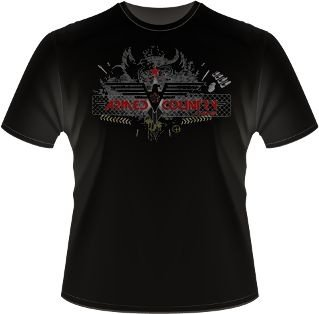 Camiseta Oficial Armed Country - Nascimento