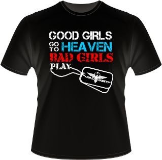 Camiseta Armed Country - Bad Girls