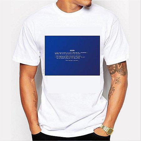 Camiseta Tela Azul do Windows