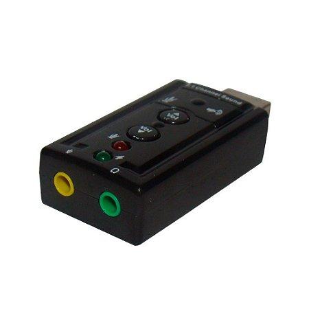 Adaptador USB MD9 A Macho x Áudio e Fone - 7418