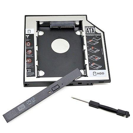 Adaptador Caddy Gravador Notebook para Hd-SSD