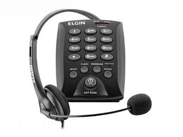 Headset Elgin HST-6000 - Telefone com fone
