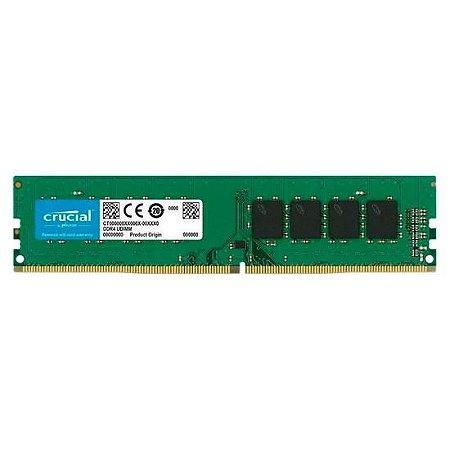 Memória Crucial DDR4 8GB 2666MHz
