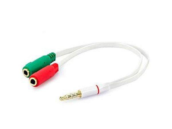 Cabos Adaptador P3 (p2 Combo) Fone Microfone Headset