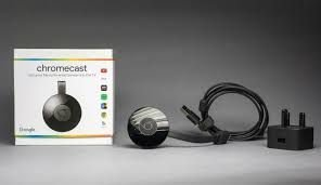Chromecast 3 Google Full HD com Wi-Fi/HDMI - Preto