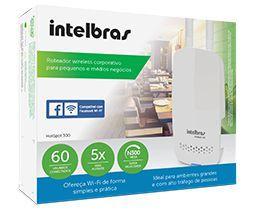 HotSpot 300 Roteador wireless com check-in no Facebook
