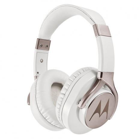 Fone Estéreo com Fio Pulse Max Over Ear Branco, Motorola, MO-SH004WHI, Branco