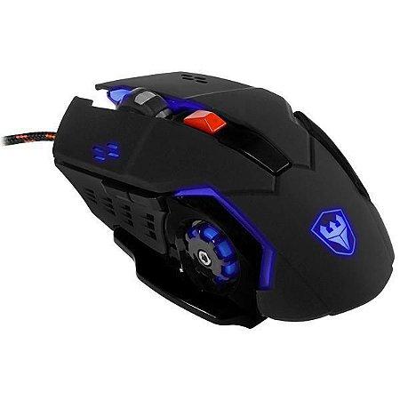 Mouse Óptico Satellite A-92 USB de 4.800CPI - Preto