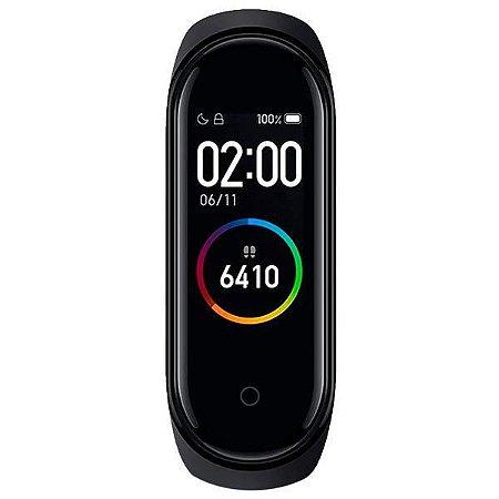 Pulseira para Atividades Físicas Xiaomi Mi Smart Band 4 XMSH07HM GL Bluetooth - Preta