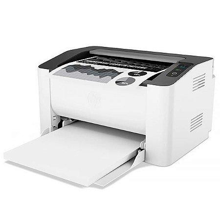 Impressora HP Laser 107w com Wi-Fi 110V - Branca