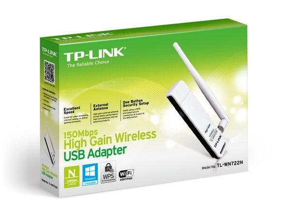 Adaptador USB Wireless N de 150Mbps TL-WN722N