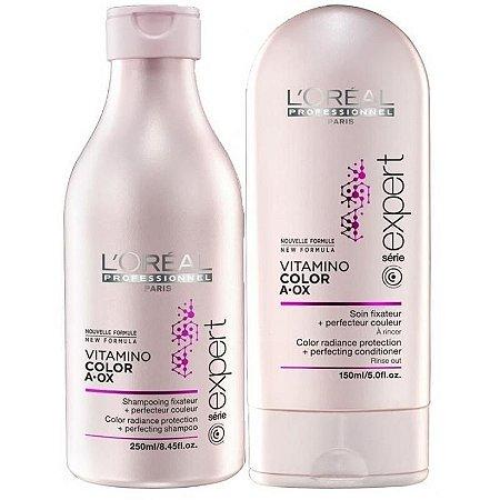 L'Oréal - Vitamino Color A.OX Kit Shampoo 250ml (Vence 3/18) e Condicionador 150ml (Vence 12/17)