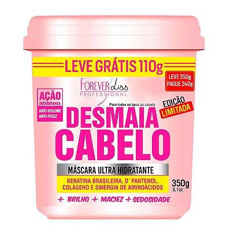 Forever Liss - Desmaia Cabelo Máscara Hidratante Anti Volume e Anti Frizz 350g EDIÇÃO LIMITADA