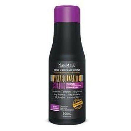 NatuMaxx - Fortificante Anabol Capilar Matizador Blond Platinum Colors 500ml