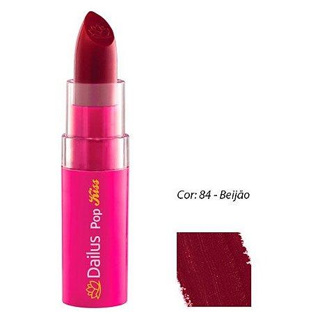 Dailus Color - Batom Pop Kiss CORES
