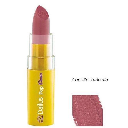 Dailus Color - Batom Pop CLEAN CORES