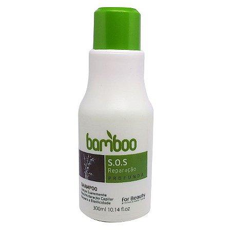 For Beauty - Bamboo S.O.S Reparação Profunda Shampoo 300ml