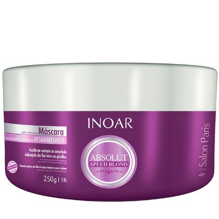 Inoar - Absolut Speed Blond Máscara Violeta Matizador 250g