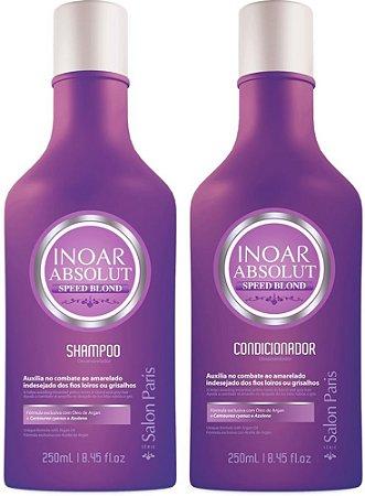 Inoar - Kit Duo Absolut Speed Blond (Shampoo 250ml + Condicionador 250ml)