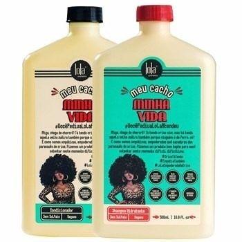 Lola Cosmetics - Meu Cacho, Minha Vida Kit Shampoo e Condicionador 500ml cada