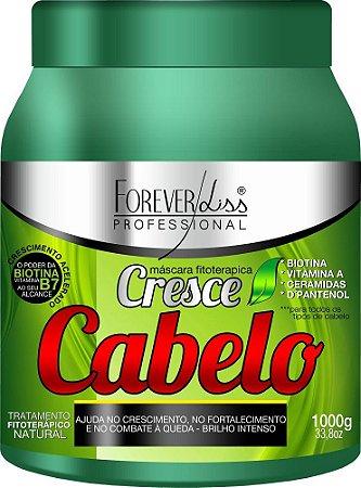 Forever Liss - Cresce Cabelo Máscara 1kg Combate quebra e queda de cabelos