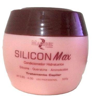 Mairibel Cosméticos - Silicon Max Condicionador Hidratante 500g