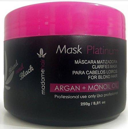 Madame Hair - Mask Platinum Acidificante Matizadora 250g