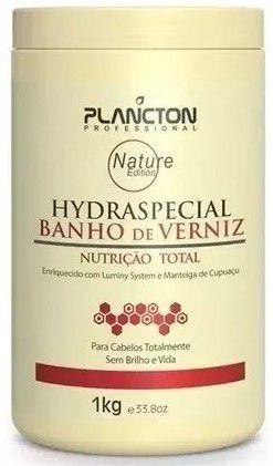 Plancton - Hydraspecial Máscara Banho de Verniz 1kg NOVA EMBALAGEM