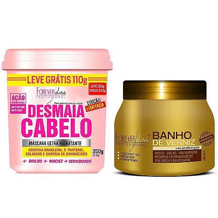 Forever Liss - Desmaia Cabelo 350g + Banho de Verniz 250g