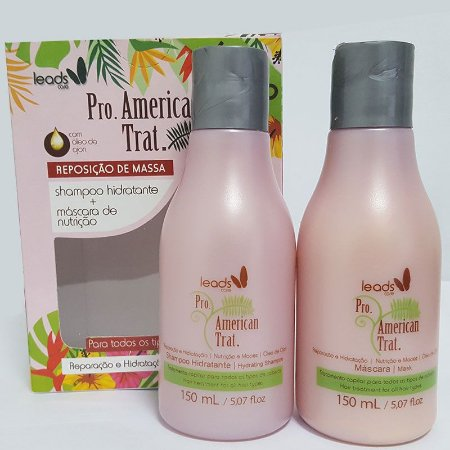 Leads Care - American Trat Kit (Shampoo 150ml + Máscara 150ml)