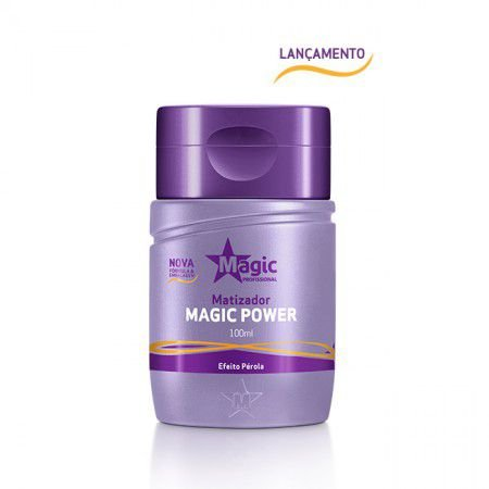 Magic Color - Mini Matizador Power 100ml Efeito Pérola