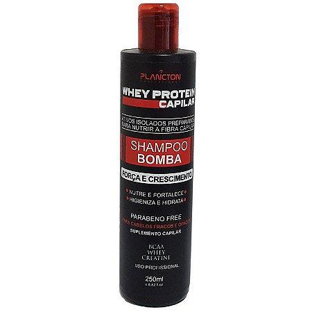 Plancton - Shampoo Bomba Whey Potein 250ml