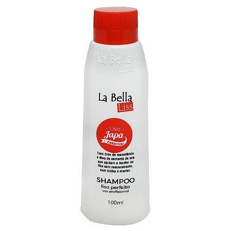La Bella Liss - Liso Japa Premium Shampoo que Alisa 100ml NOVA EMBALAGEM