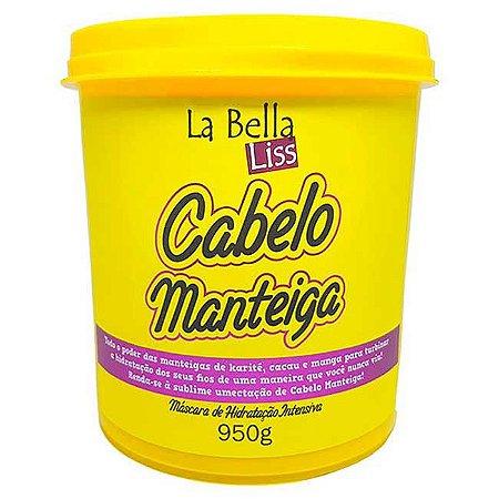 La Bella Liss - Cabelo Manteiga Máscara de Hidratação Profunda 950g