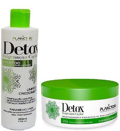 Plancton - Kit Detox Shampoo 250ml + Máscara 250g